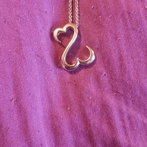 Open hearts necklace from kay jewelers